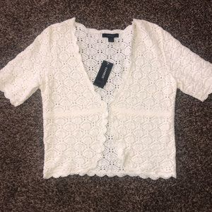 Express open front bolero knitted 😍